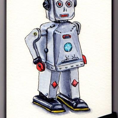Robot Doodlewash by Charlie O'Shields