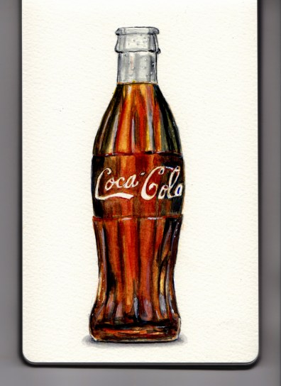 Coca-Cola Bottle Doodlewash