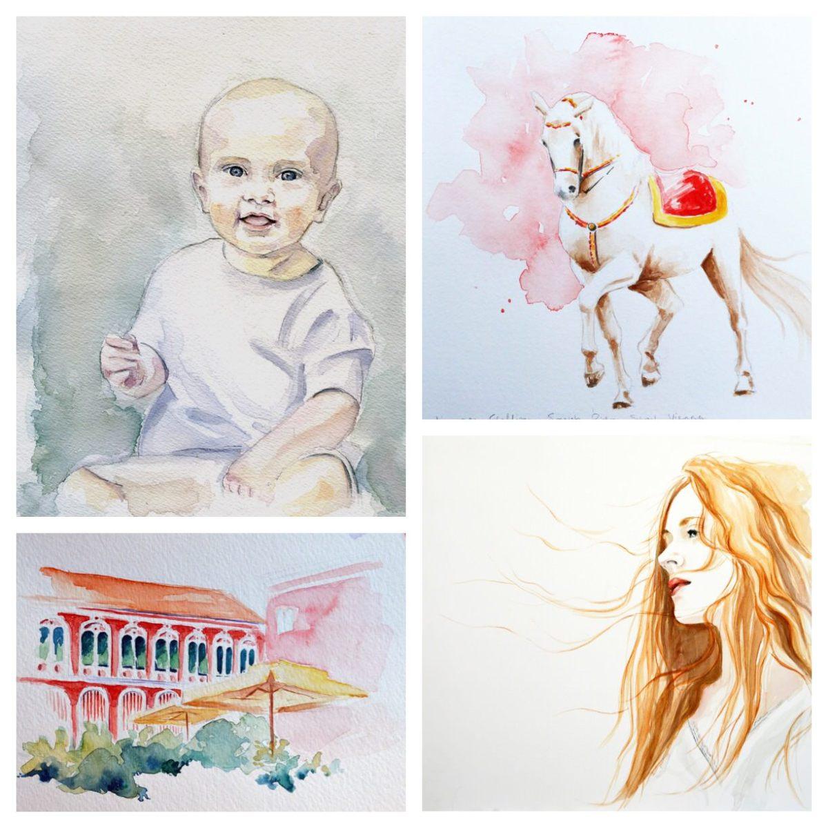 Doodlewashes by Elizabeth Brunsmen
