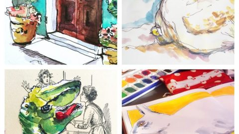 Watercolors by Barbara Nigg
