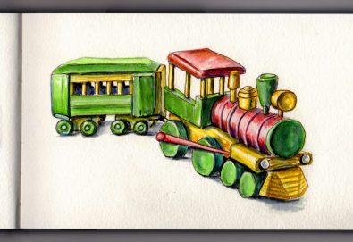 Toy Train Doodlewash