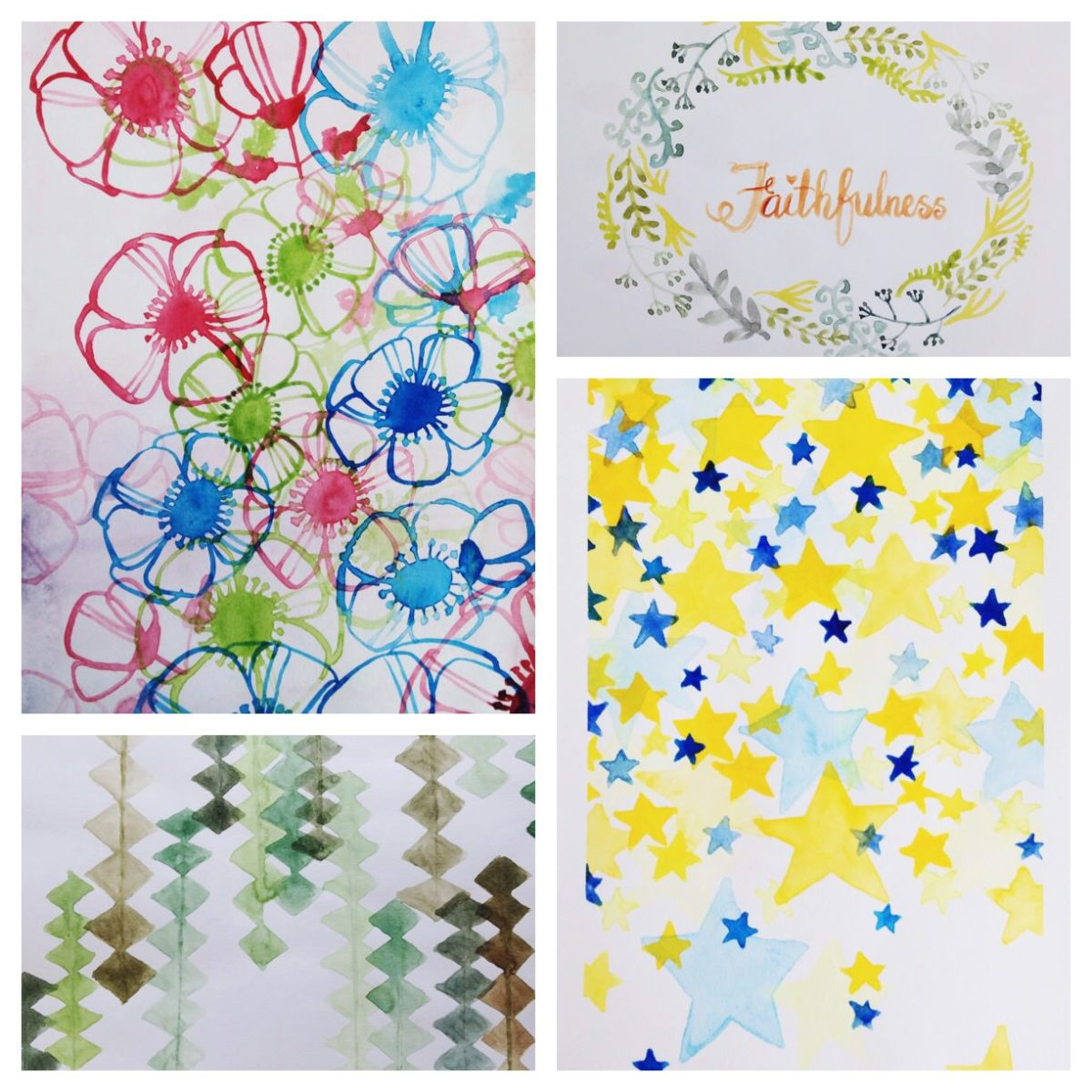 Doodlewashes by Adelyn Siew