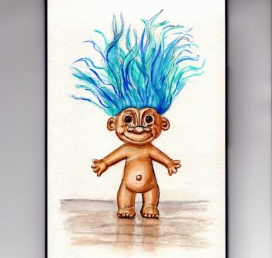 Troll Doll Doodlewash