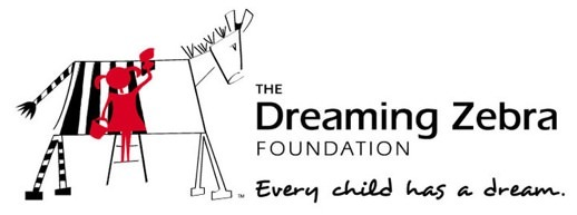 The Dream Zebra Foundation Logo - Donate art supplies to celebrate World Watercolor Month July 2016