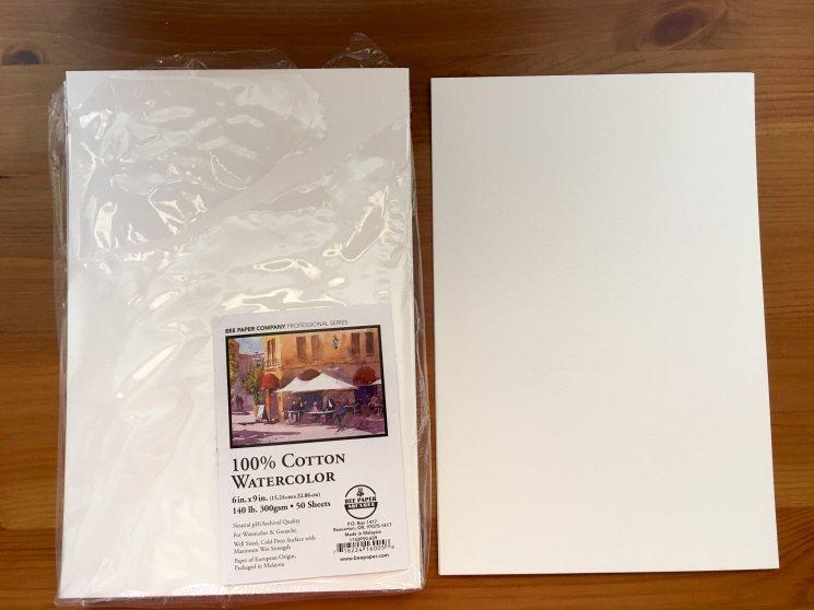 Bee Paper co 100% cotton watercolor paper