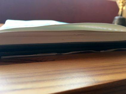 Stillman & Birn Beta Series watercolor journal paper buckling
