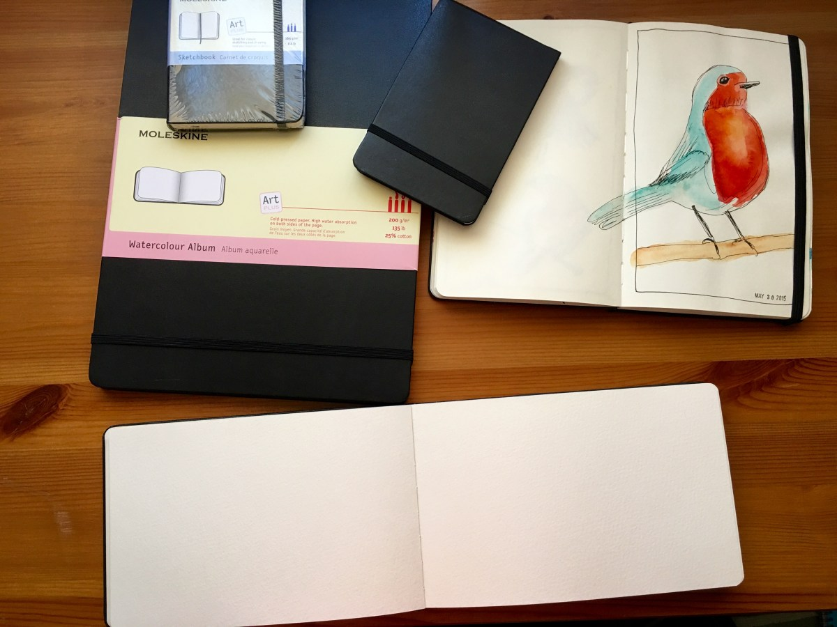 Moleskine Watercolor, Moleskine Art Plus journals