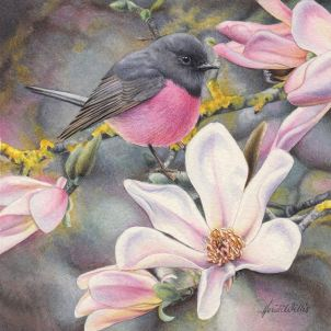 Doodlewash - watercolor painting illustration by Heidi Willis of Pink Robin