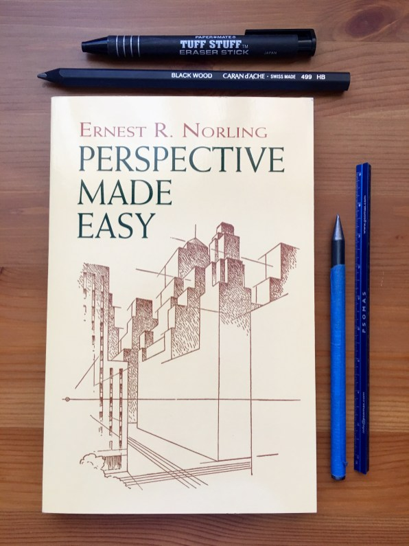 Perspective made easy by Ernest R. Norling