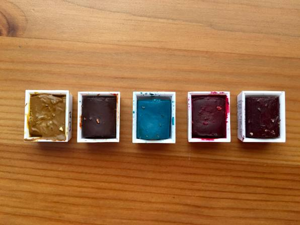 Winsor & Newton watercolor half pans