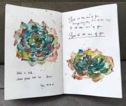 #Doodlewash - #Watercolor by Sarah Ongsun - journal - #WorldWatercolorGroup