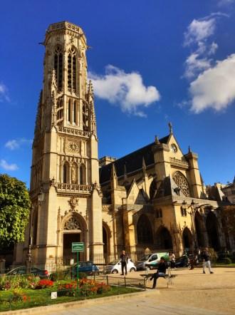 Paris France Church