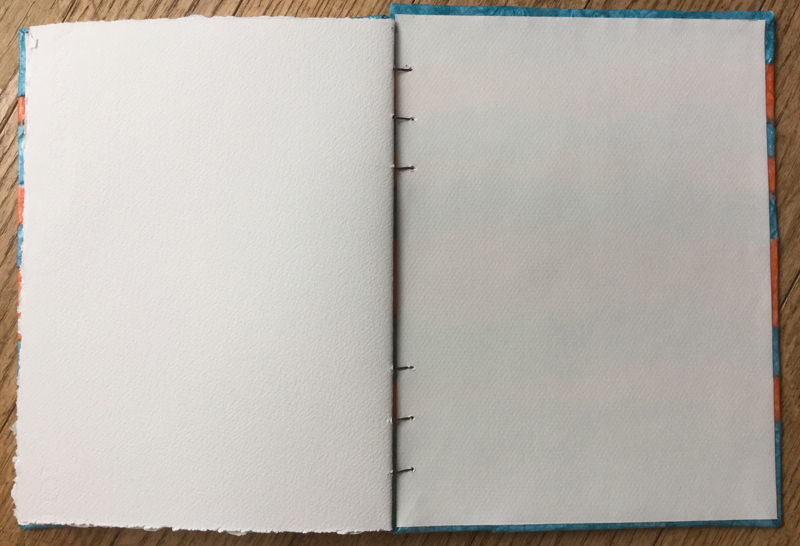 #Doodlewash - Handmade Sketchbook by Annie Glacken