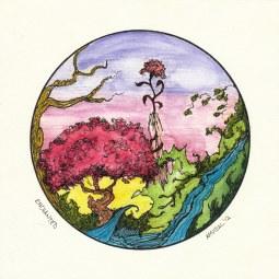 #WorldWatercolorGroup - Watercolor - Enchanted by Adriana Vidal - #doodlewash