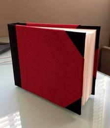 Red Cloth Hardbound Watercolor Sketchbook Paris, France