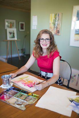 Angela Fehr Portrait Creative Watercolour Course