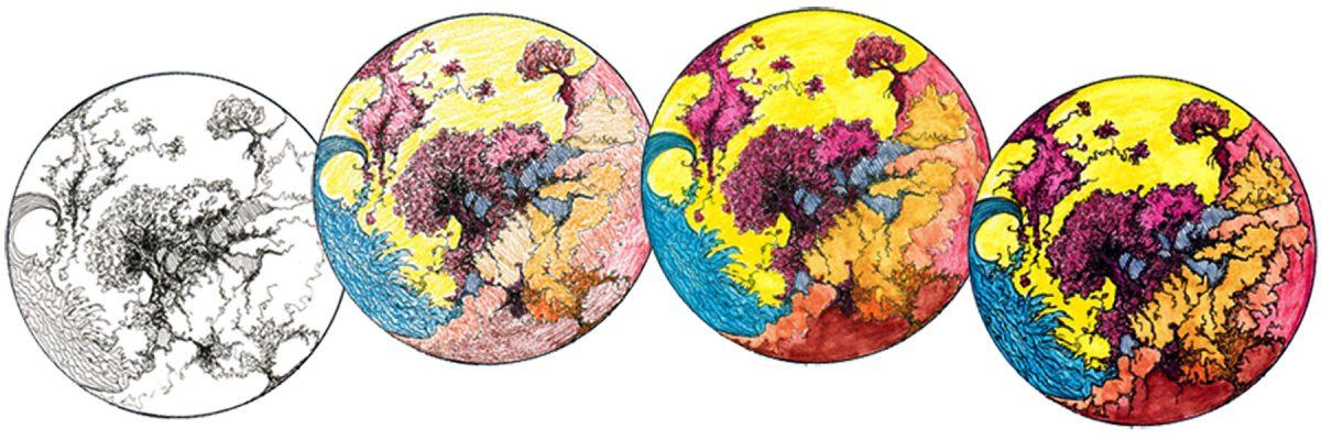 #WorldWatercolorGroup - Watercolor - Work In Progress by Adriana Vidal - #doodlewash