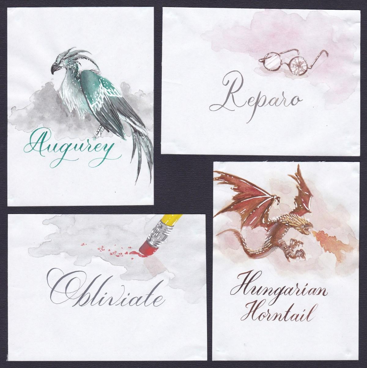#WorldWatercolorGroup - Harry Potter World Watercolor by Hanny (Khairani Larasati Imania) - #doodlewash
