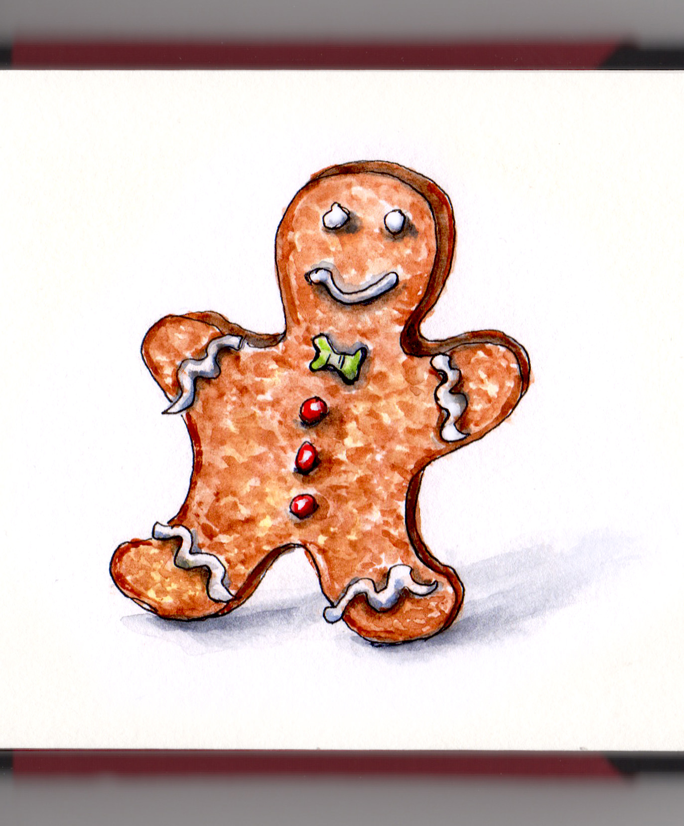 Doodlewash The Gingerbread Man