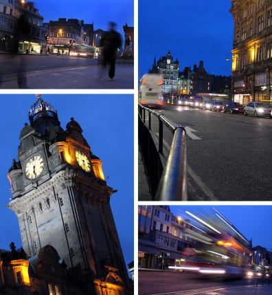 Edinburgh At Night