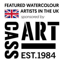 Featured Watercolour Artists In The UK sponsored by Cass Art