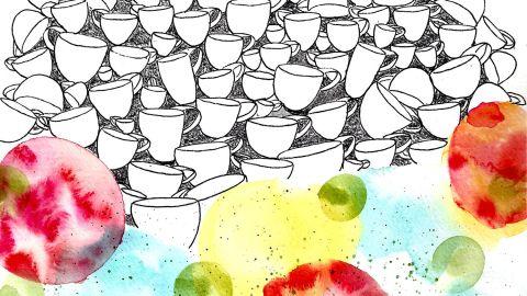 #WorldWatercolorGroup - Watercolor by Cynthia Morris - #doodlewash
