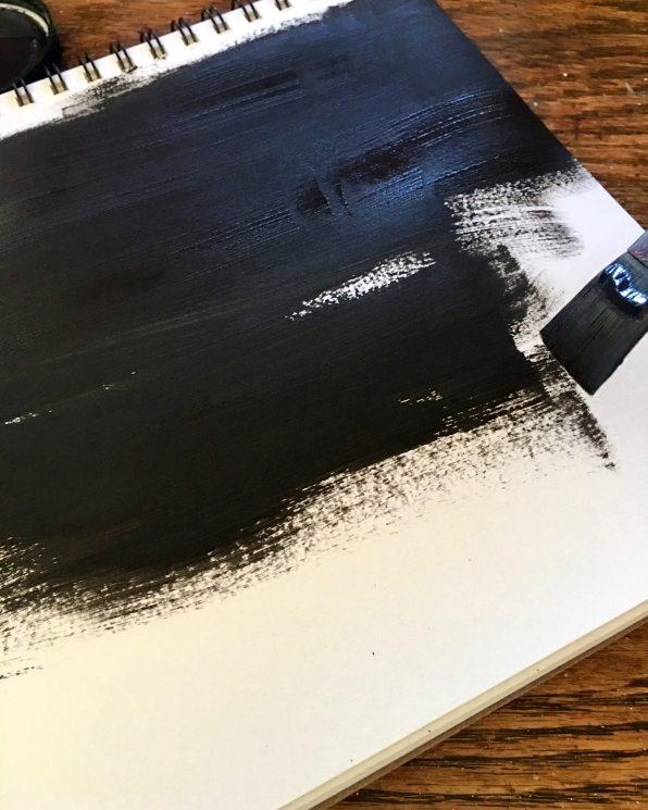 Daniel smith Daniel smith titanium white watercolor ground, mars black watercolor ground