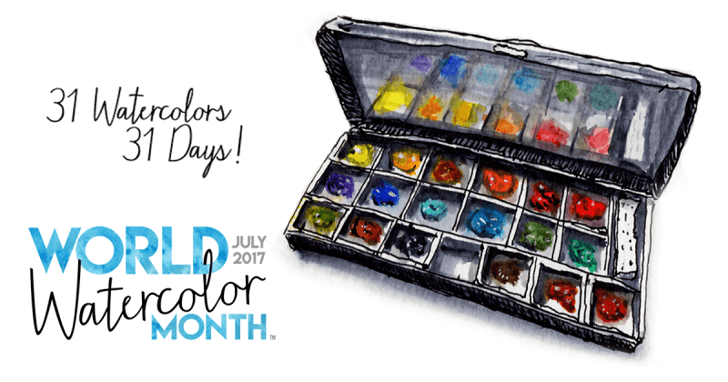 World Watercolor Month 2017 Alternate Image