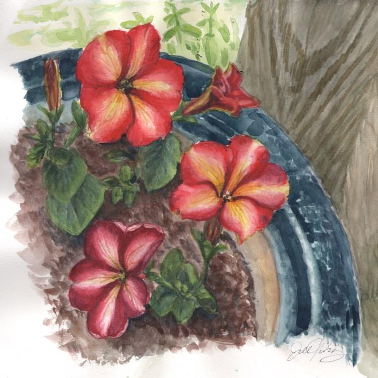 3 Petunias Floral_3Petunias_WC