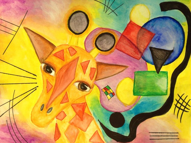 Kandinsky giraffe IMG_4602