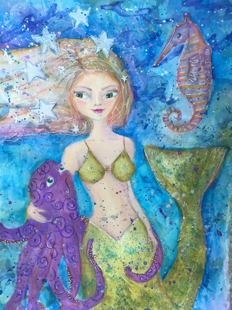 Empowered Little Mermaid from Tamara LaPorte's Ever After workshop IMG_8942