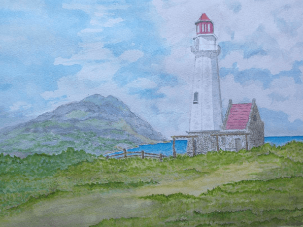 Tayid Lighthouse    15×11 Inches Screen Shot 2017-06-23 at 11.11.47 PM