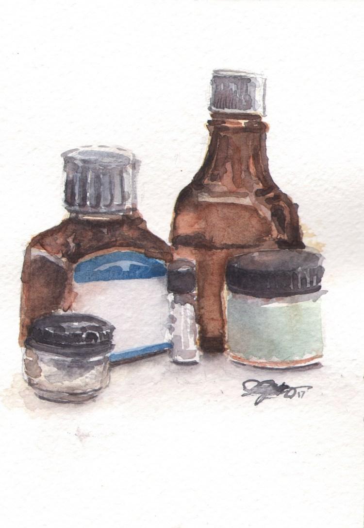 Still Life with Jars StillLife_WCJars_color_WC