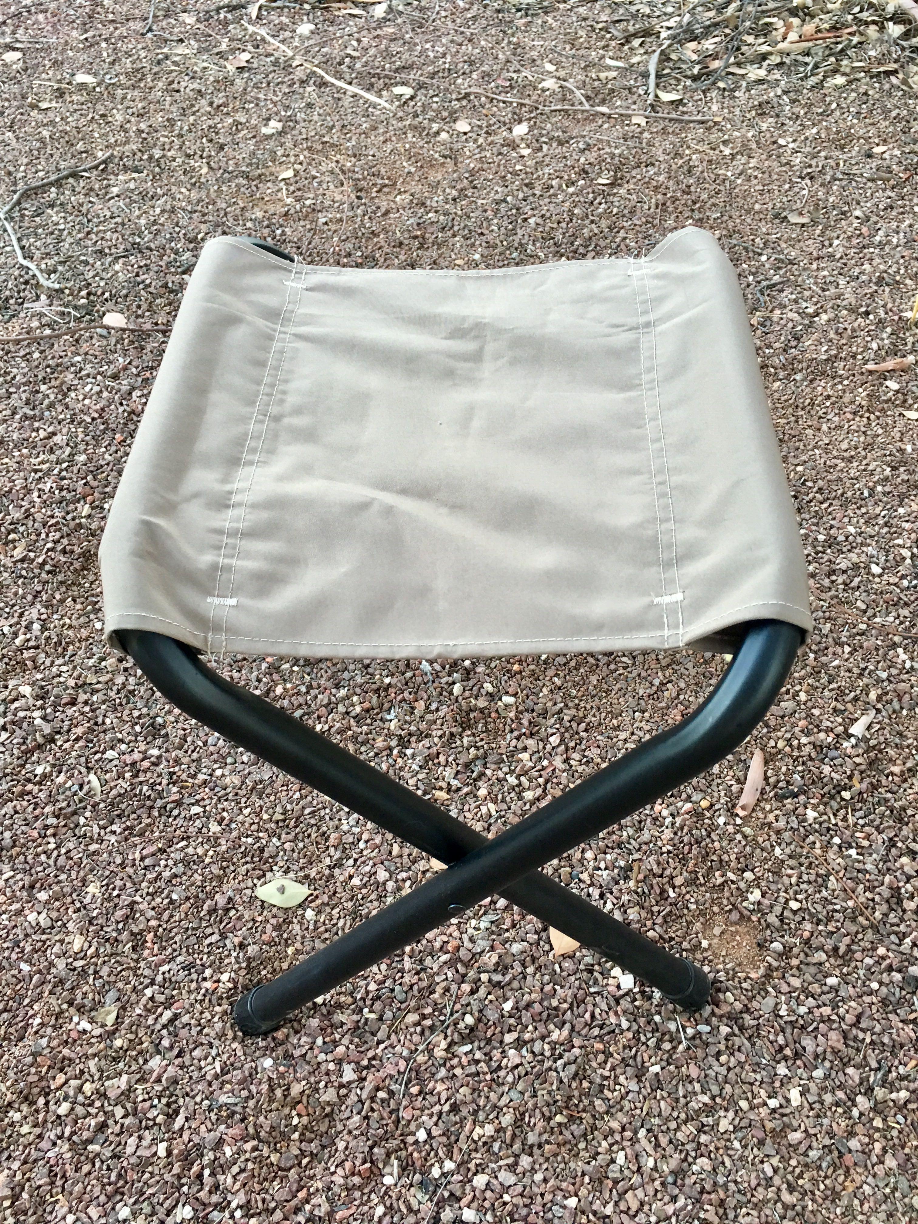 Coleman Rambler II stool, urban sketching, nature sketching, outdoor sketching