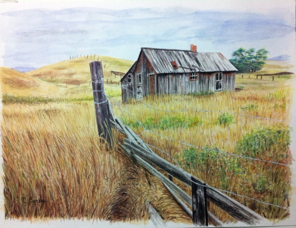 From the same photo by Joan McDaniel. This one is Gouache on paper. photo 2 – Edited