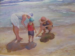 studies and beach scene 002