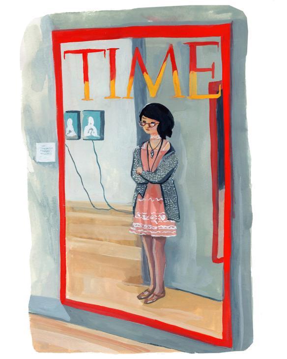 #WorldWatercolorGroup - Art by Jenny Kroik - TIME magazine - #doodlewash