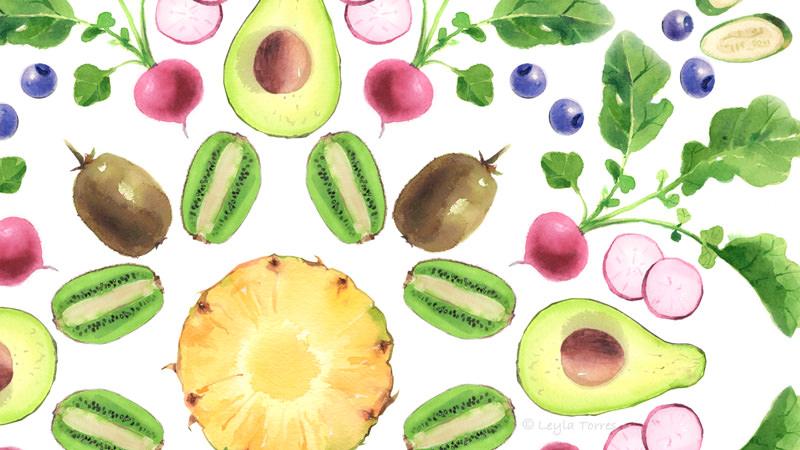 World Watercolor Month - Watercolor by Leyla Torres - Doodlewash