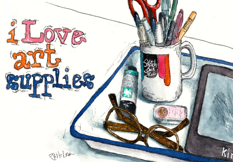 Heart Art Supplies