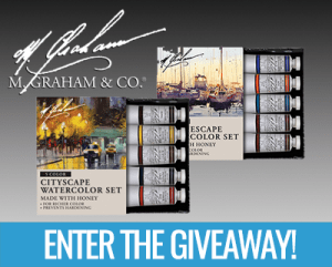 M Graham Official World Watercolor Month Giveaway