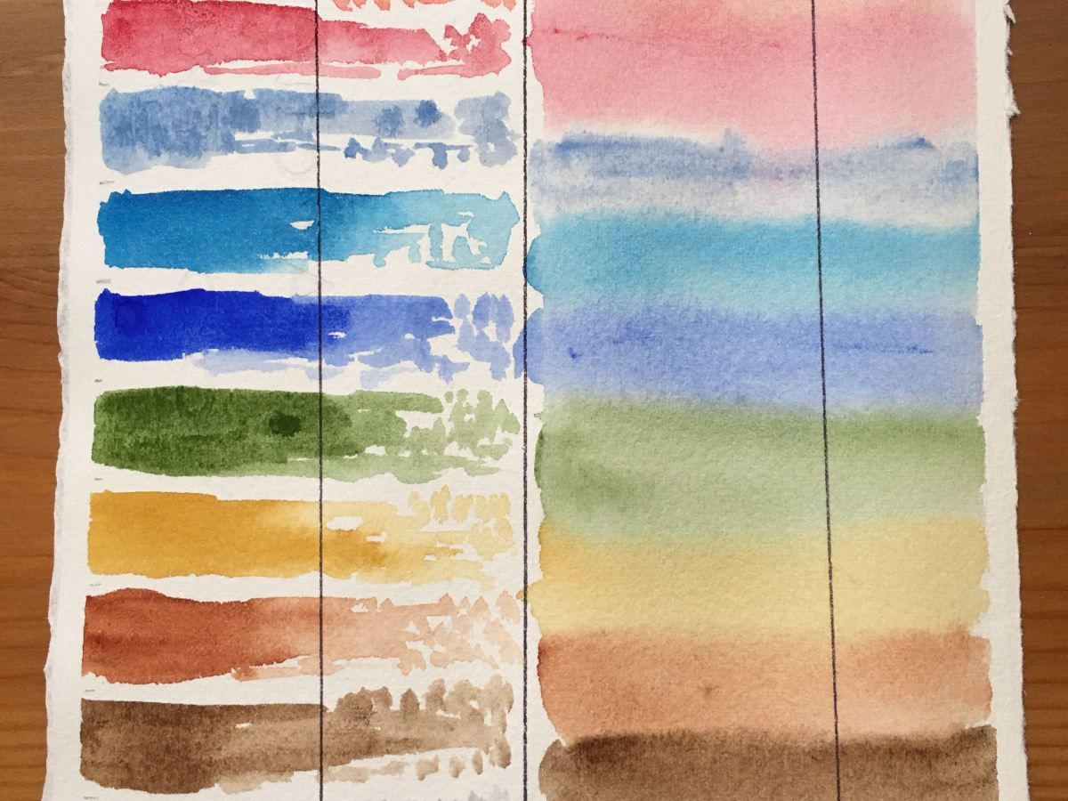 Grumbacher Finest Artists' Watercolor swatch
