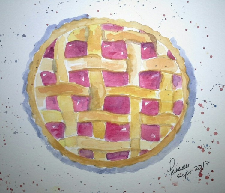 16. A perfectly baked pie 16