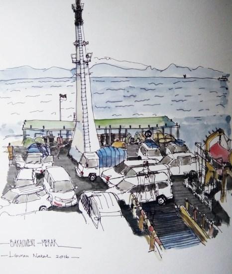#WorldWatercolorGroup - Watercolor sketch by Agus Ramdani (aagozie) - Doodlewash