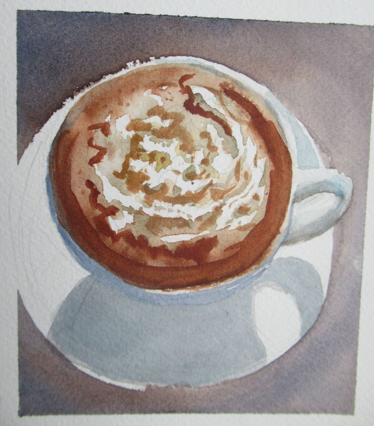 MMM Hot Chocolate. They have hot chocolate in Spain to DIE for! Thick and scrummy. It's always