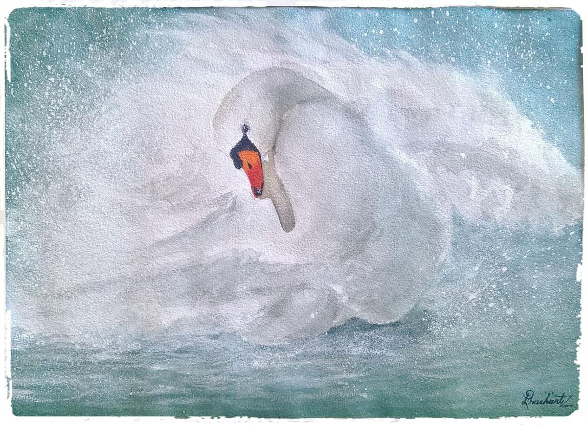 #WorldWatercolorGroup - Watercolor painting by Prashant Maru - Doodlewash
