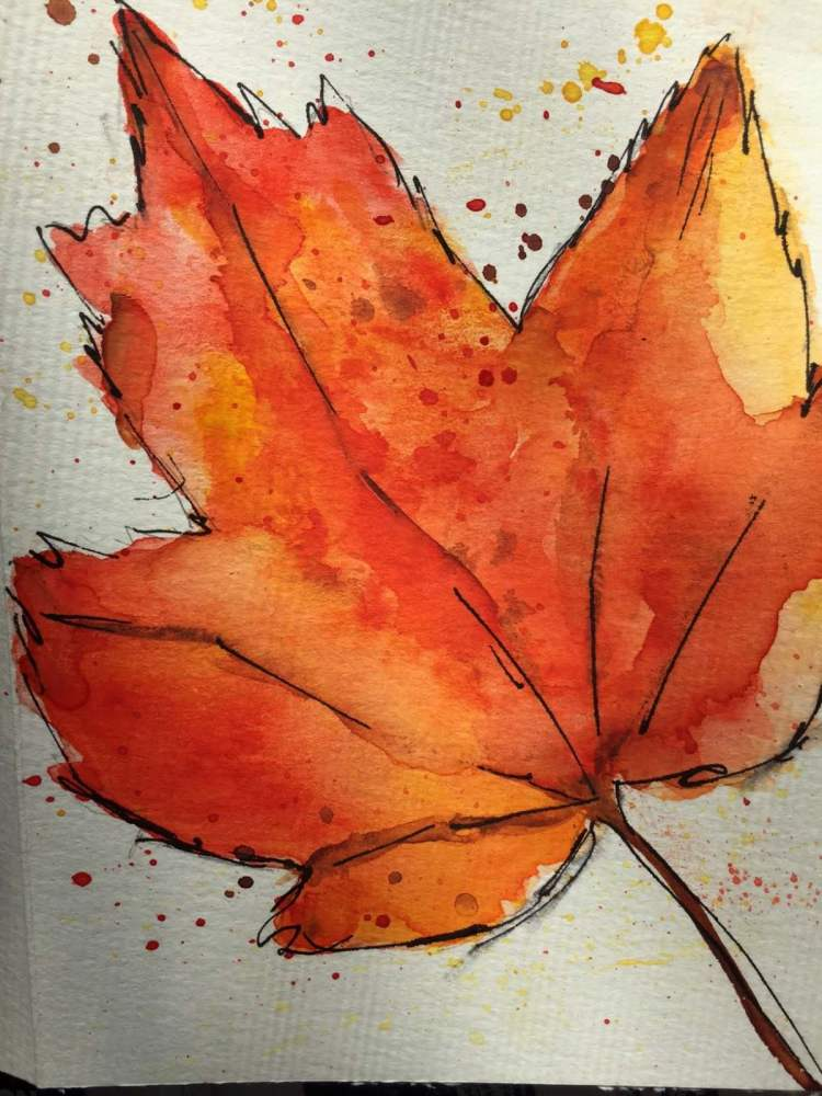 Fall — even though it is in the 90s leaf