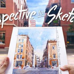 Perspective for Sketchers with Stephanie Bower