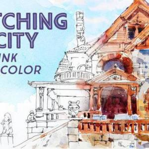Sketching the City in Pen, Ink & Watercolor with Shari Blaukopf