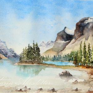 Canada – Original Watercolor