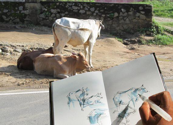 #WorldWatercolorGroup - watercolor by Asanka Wijerathna - Doodlewash